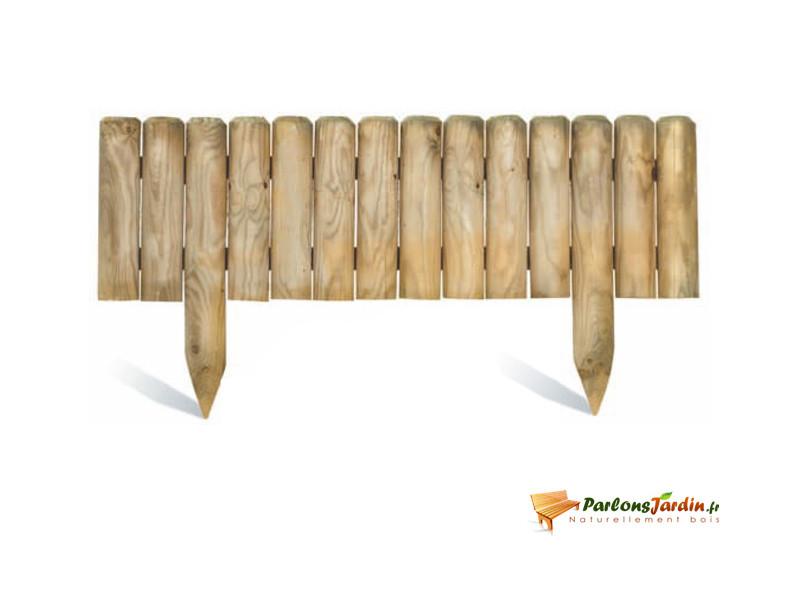Bordure de jardin en bois à planter quebec xl - Vente de ...