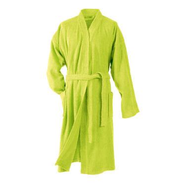 peignoir sortie de bain taille unique adulte vert vente de linge de toilette b b conforama. Black Bedroom Furniture Sets. Home Design Ideas