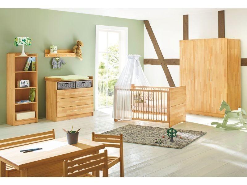 Set de 3 pièces pour chambre bébé avec lit à barreaux évolutif ...