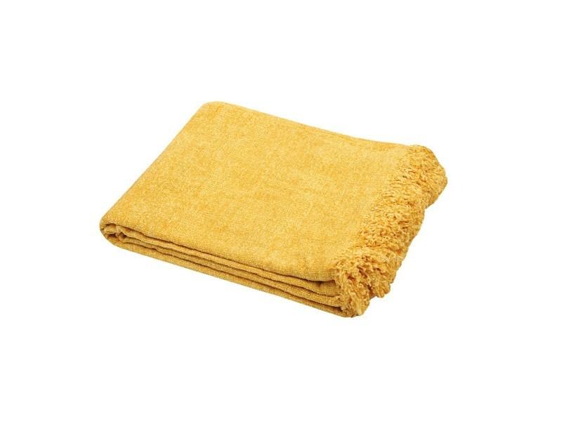 Plaid 125x150 cm chila moutarde