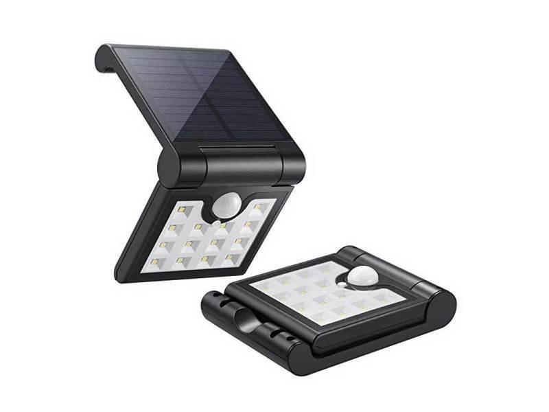 Lampe Solaire Jardin Led Applique Etanche Ip65 Anti Pluie 120