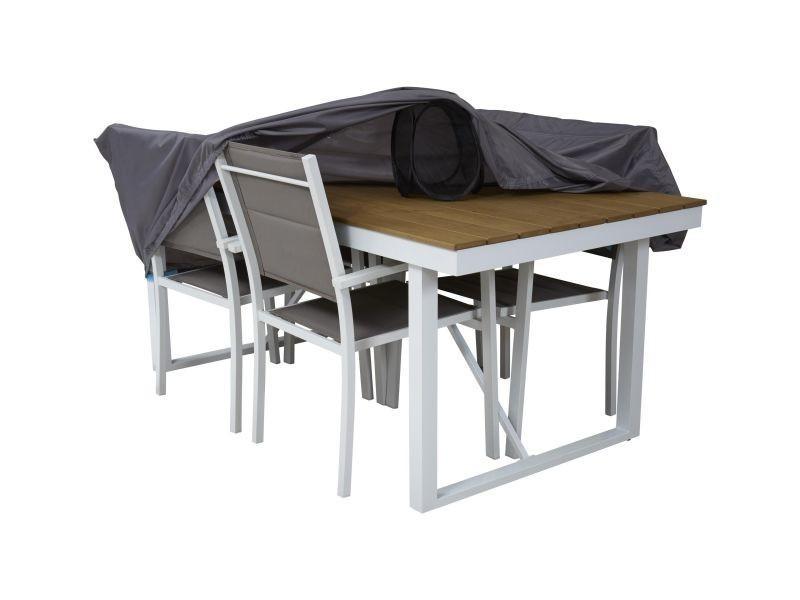 Housse de protection table de jardin 180 x 110 cm vente - Protection table jardin ...