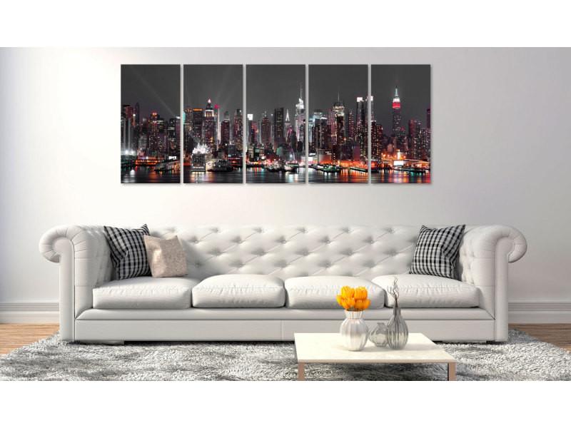 200x80 tableau new york villes distingué new york: insomnia
