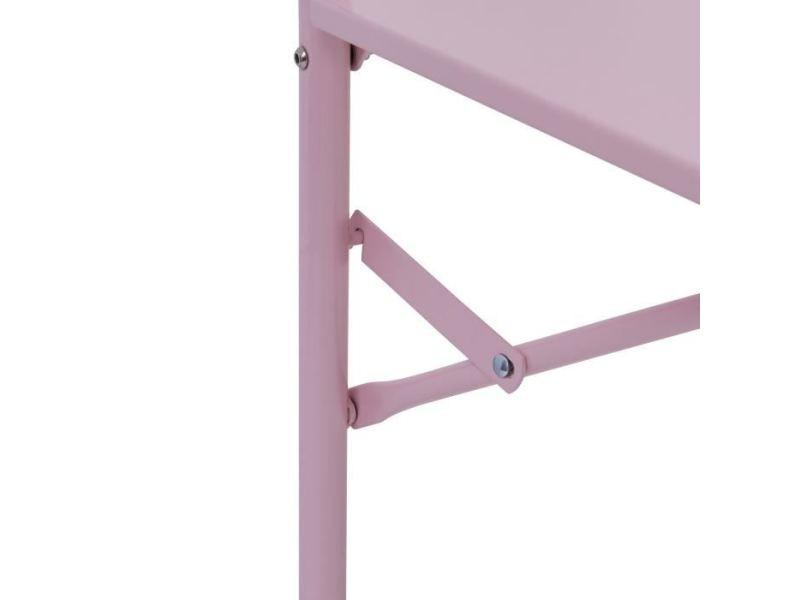 Table de jardin vendue seule - table de balcon rabattable en ...