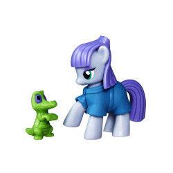 Figurine mon petit poney : les amies c'est magique : maud rock pie