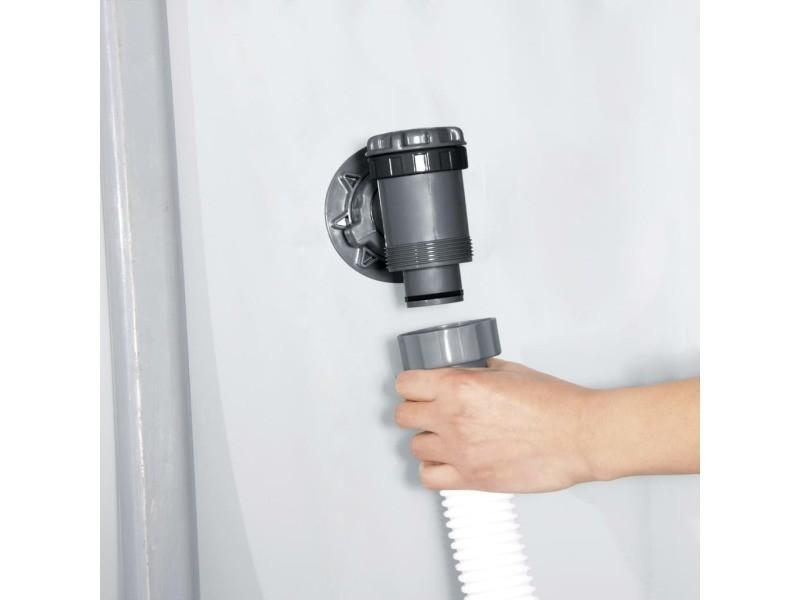 Tuyau bestway tuyau hose 3 m - 38 mm blanc 80562 taille : uni