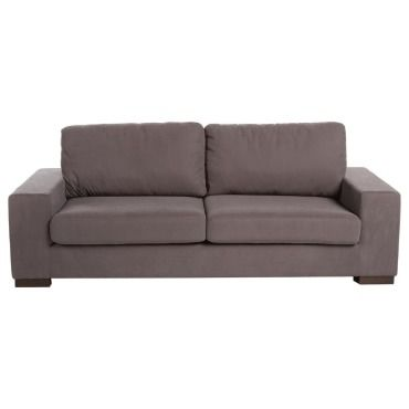canap city 3 places taupe vente de atmosphera conforama. Black Bedroom Furniture Sets. Home Design Ideas
