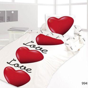 Housse De Couette 140x200 Love Is In The Air 1 Taie Vente De