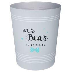 Poubelle enfant pour salle de bain - 5 l - ourson