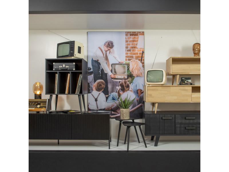 meuble tv scandinave ch ne massif tygo couleur naturel. Black Bedroom Furniture Sets. Home Design Ideas