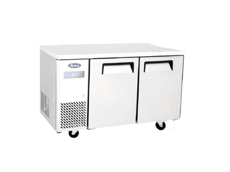 Table réfrigérée négative compacte 2 portes - 270 à 370 l - atosa - r2902 portes270pleine