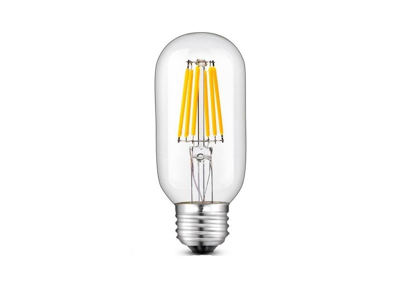 Ampoule filament led e27 blanc chaud sedna e27 t45 6w h12cm