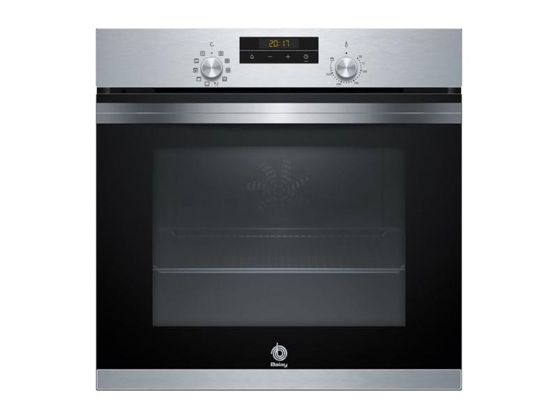 Balay oven 3hb433cx0 60cm acier série nettoyage aqualisis