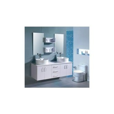 Magnifique ensemble meuble salle de bain complet 39 europe b 39 2 vasque - Meuble vasque salle de bain conforama ...