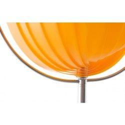 Lampadaire design orange