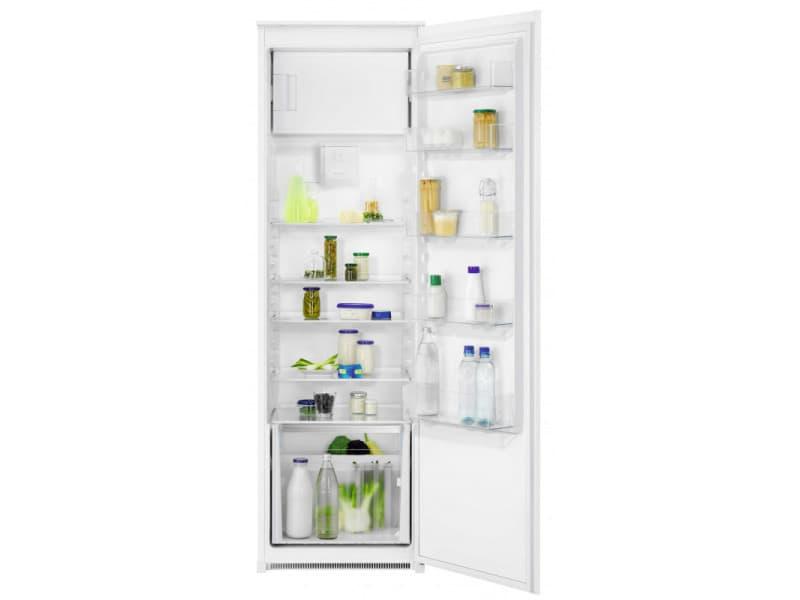 Réfrigérateur encastrable 281l froid brassé faure 54.8cm a++, fedn18fs1 FAU7332543759521