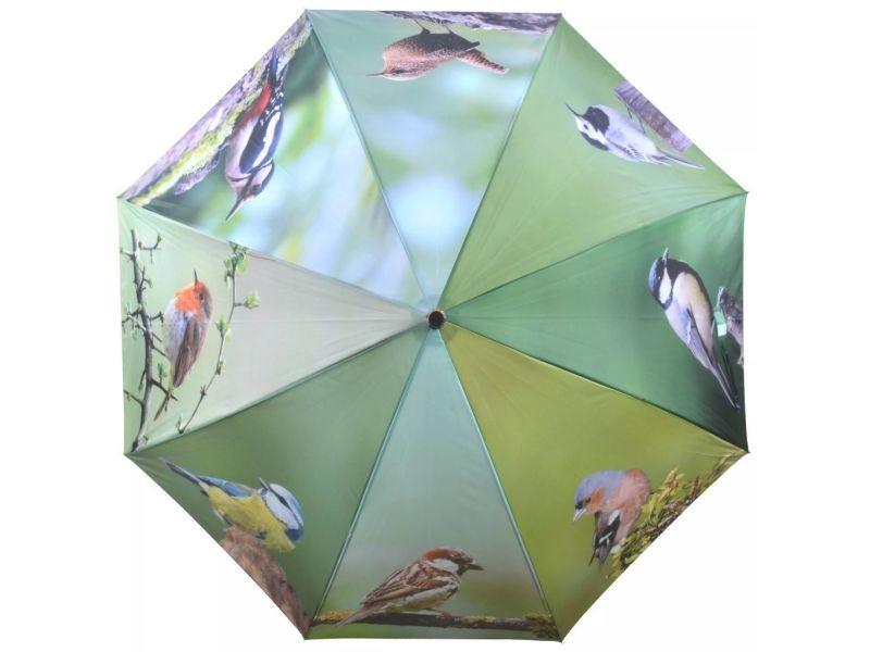 Esschert design parapluie birds 120 cm tp178 421307