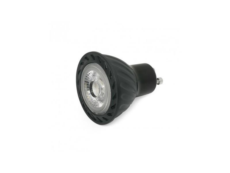 Ampoule led gu10 8w/50w 4000k 520lm 60d noire