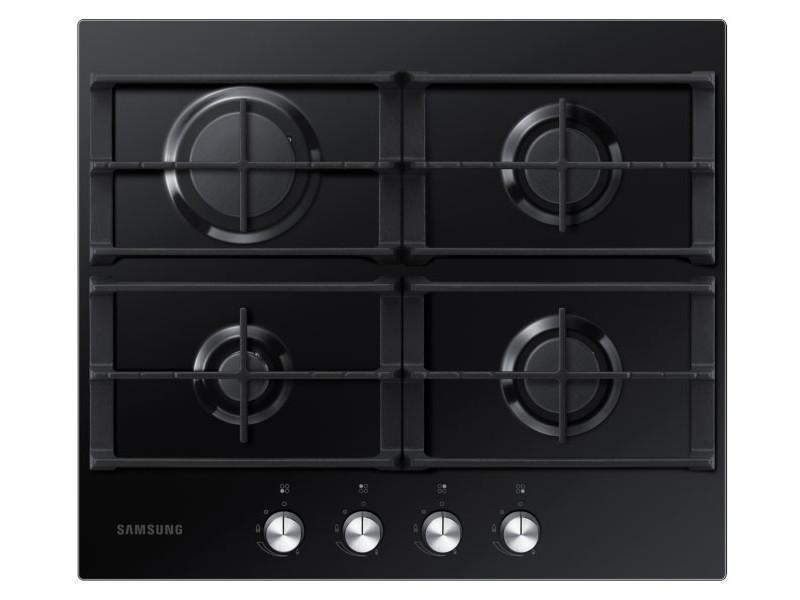 Samsung na64h3010ak/et plaque noir intégré (placement) gaz 4 zone(s) NA64H3010AK