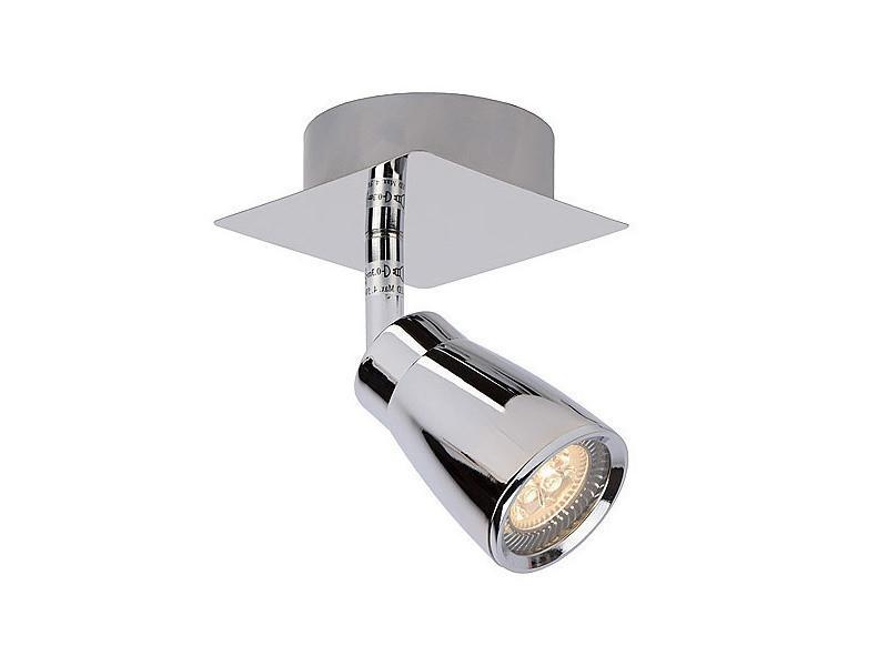 Spot led orientable pour salle de bains en métal longueur 8 cm lana ...
