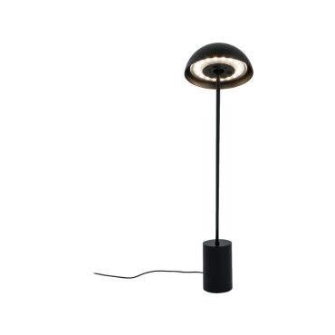 Lampe De Bureau Led A Variateur Tactile Bhaus Noire En Metal Et Pvc