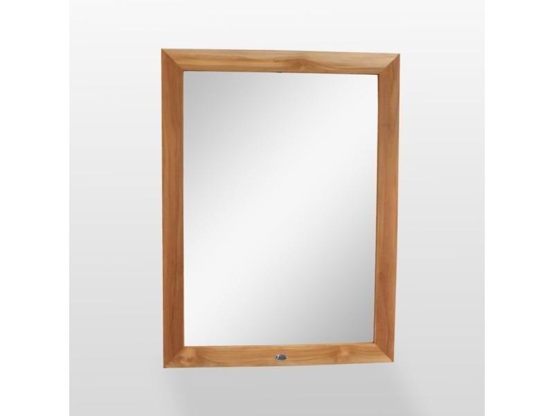Miroir de salle de bain teck 120x90 cm alto Vente de RUE