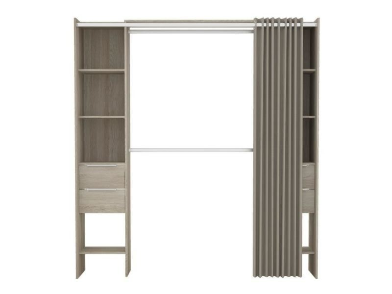 dressing kit amenagement de placard dana kit dressing. Black Bedroom Furniture Sets. Home Design Ideas