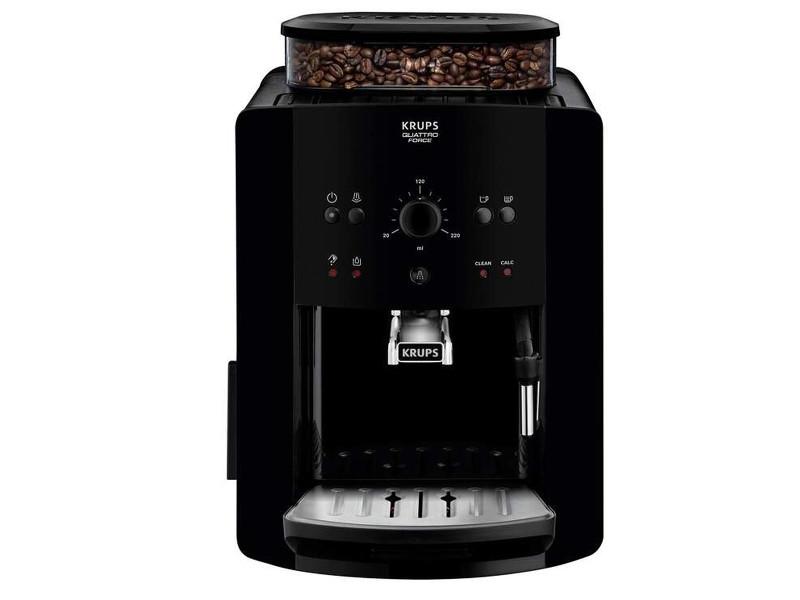 Machine à expresso avec broyeur krups ea8110,1450 w, noir