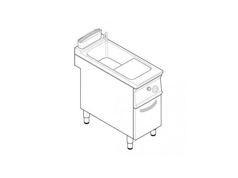 Cuiseur a pates professionnel à gaz 1 cuve -tecnoinox - 900