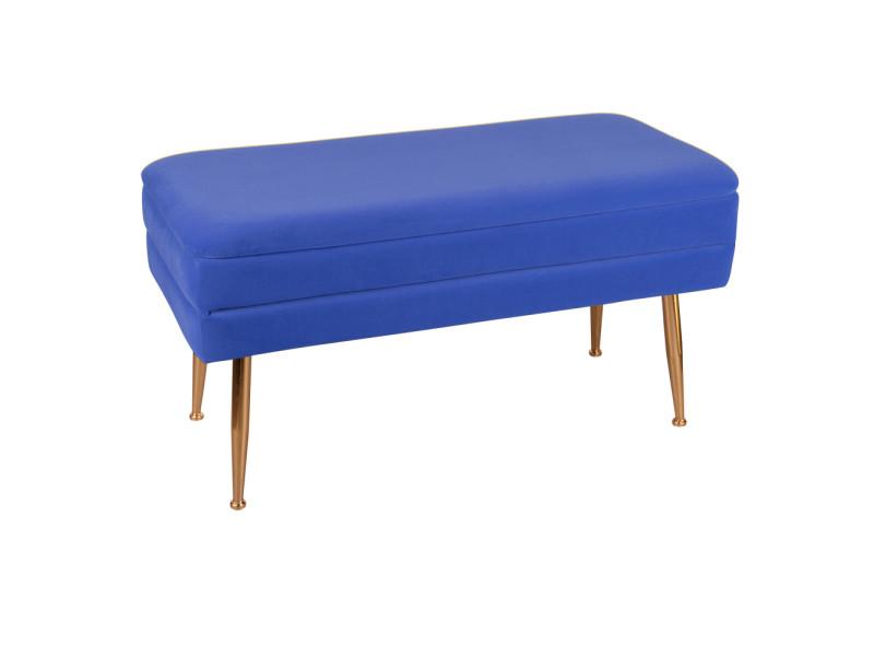 Banquette bibum bleue dur 79x41 cm