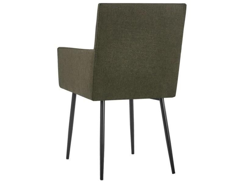 Vidaxl chaises de salle à manger avec accoudoirs 4 pcs