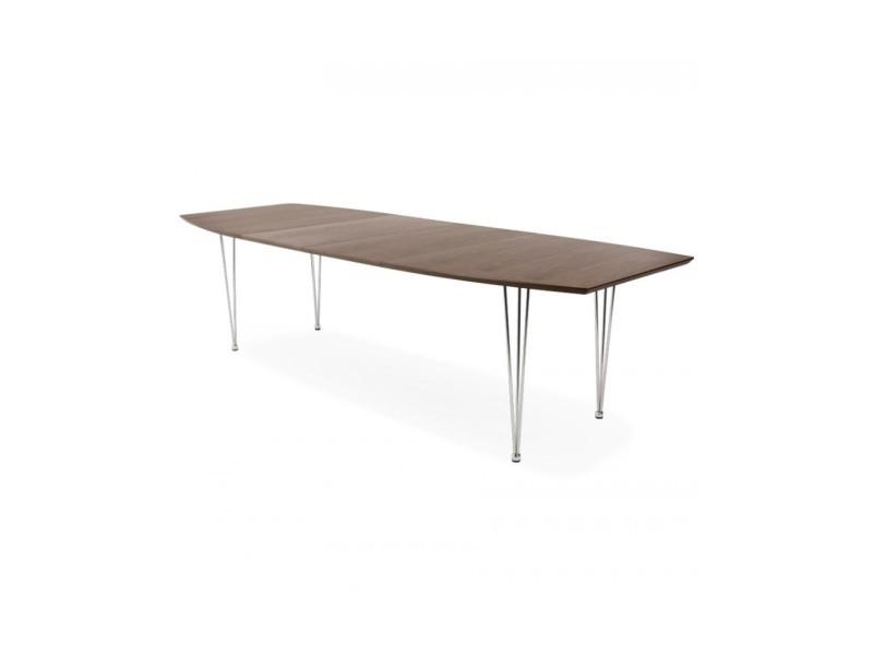Table A Manger Extensible Avec Rallonges Vente De Design D Un Jour