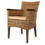 Black friday: fauteuil en kubu tressé victoria - rotin design