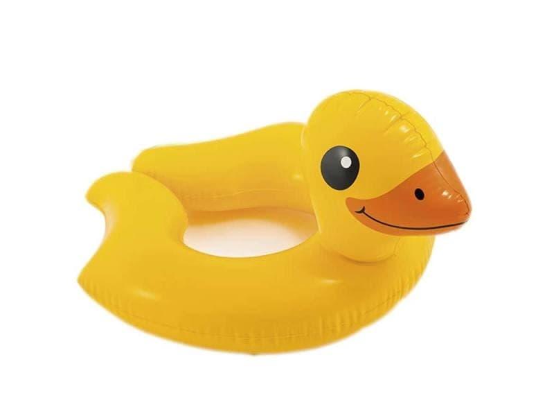 Bouée gonflable canard - intex