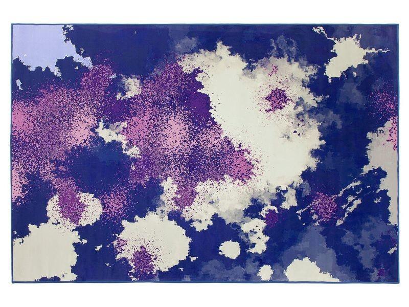 Tapis violet et pourpre 160 x 230 cm kadirli 127404