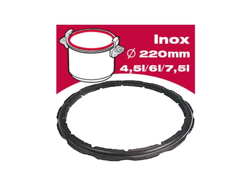 Joint autocuiseur inox 792350 4,5-6-7,5l ø22cm noir SEB3045387923501