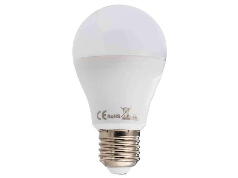 Ampoule led ronde e27 8w blanc/froid