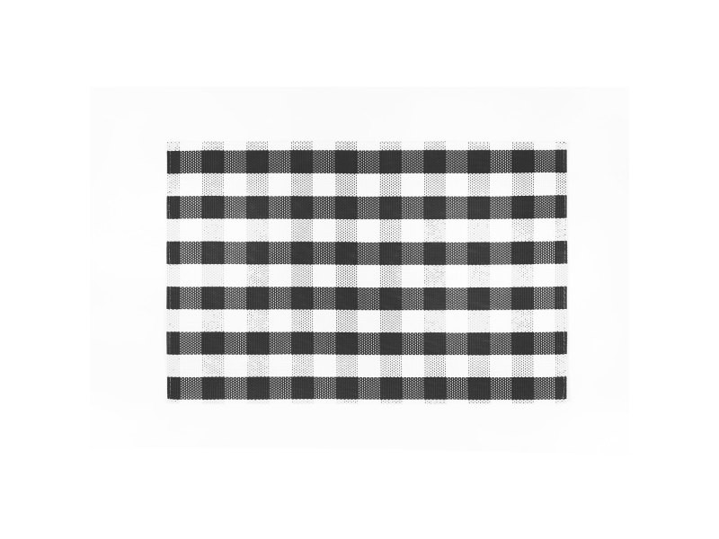 Set rectangulaire oscar noir 30 x 45 cm les ateliers du linge 4489070000