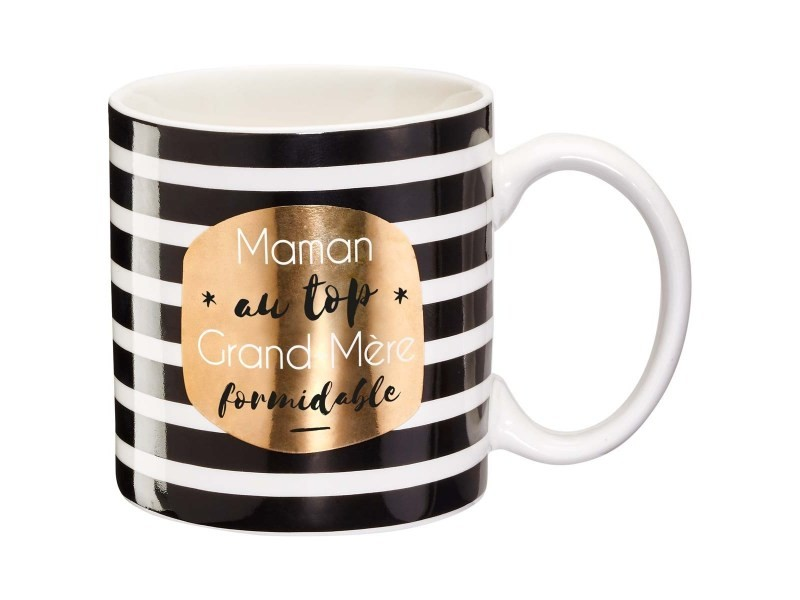 Mug Cadeau Maman Au Top Grand Mère Formidable Vente De