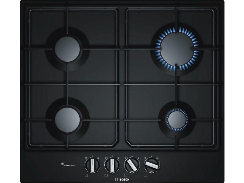Table de cuisson gaz 60cm 4 feux noir - pcp6a6b80 pcp6a6b80