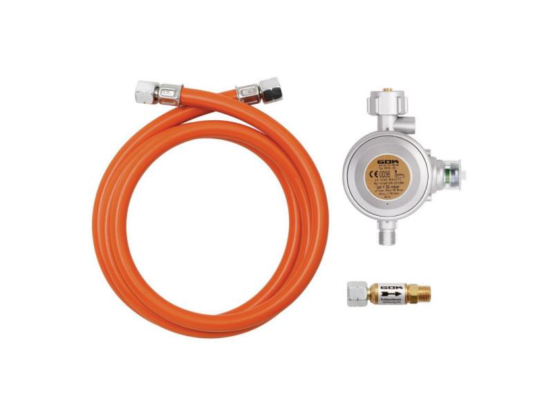 Kit de branchement gaz bouteille professionnel - bartscher - 180