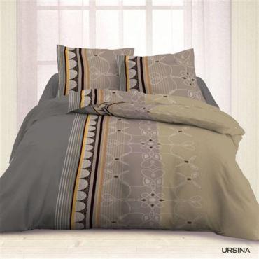 housse couette 220x240 2 taies ursina vente de les douces nuits de mae conforama. Black Bedroom Furniture Sets. Home Design Ideas