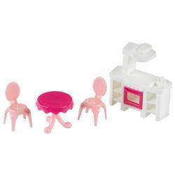 Mobilier pour figurines princess coralie : cuisine et terrasse