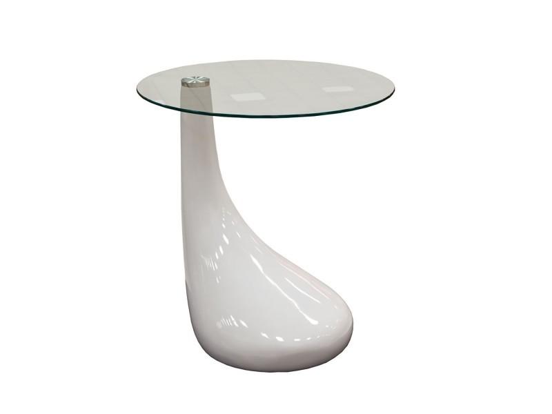 table basse laqu e design blanche vente de table basse conforama. Black Bedroom Furniture Sets. Home Design Ideas