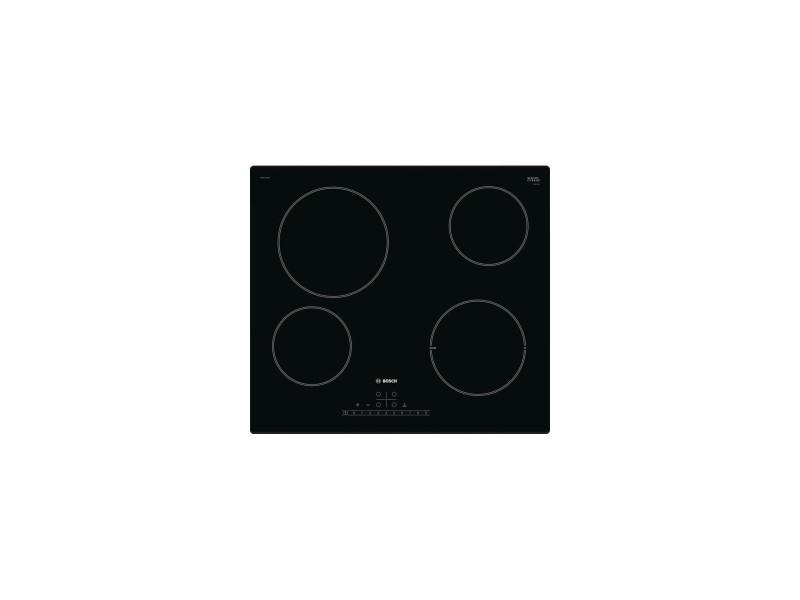 Table de cuisson vitrocéramique 4 foyers 17 niveaux de puissance