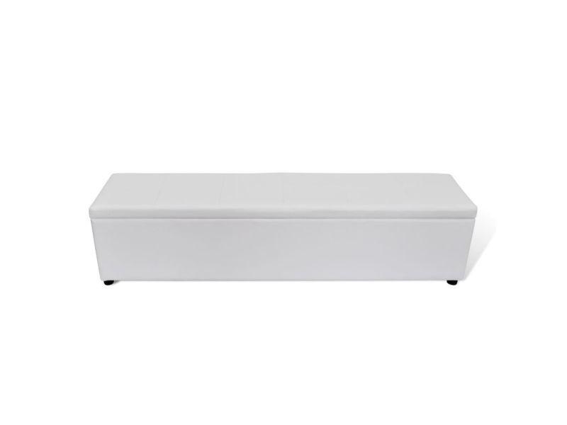 Admirable bancs selection nouakchott banc banquette coffre de rangement blanc taille large