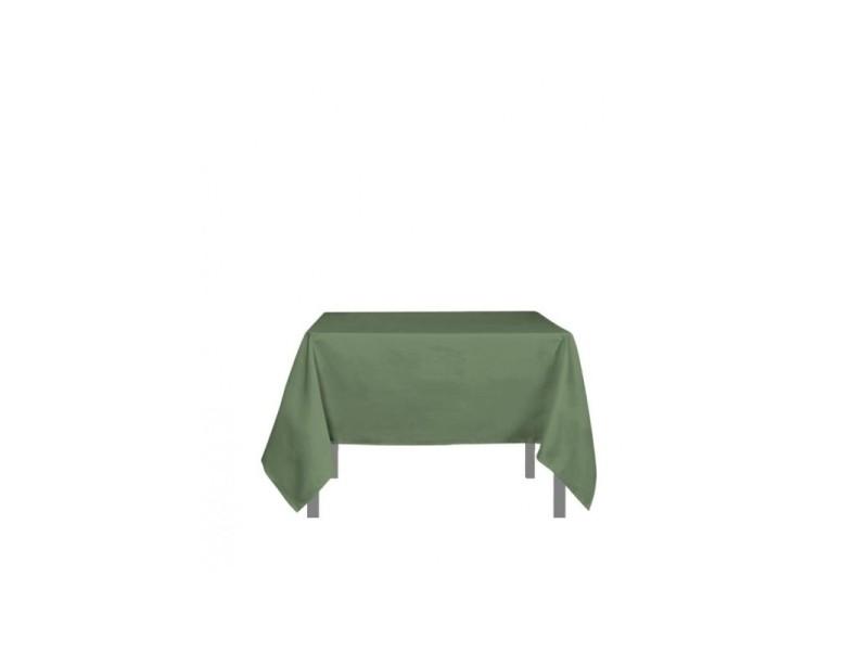 Nappe carré anti-tâches alix - l 180 x l 180 cm - vert