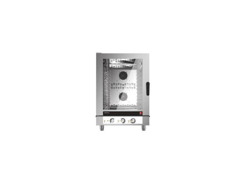 Four mixte électrique à injection de vapeur - 5 à 10 niveaux gn 1/1 - baron - 10 gn 1/1