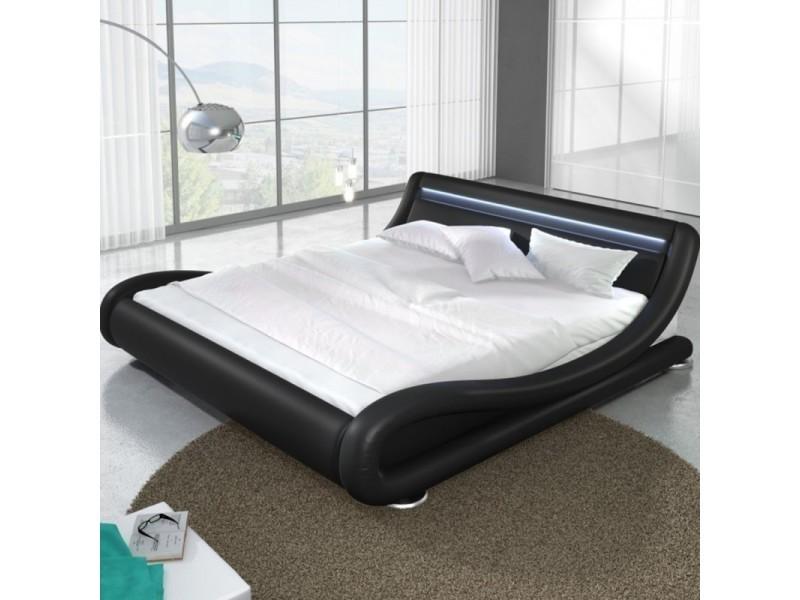 Lit design led julia - noir - 160x200