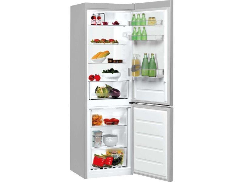 Réfrigérateur combiné 339l froid brassé indesit 60cm a+, lr 8 s 1 fs